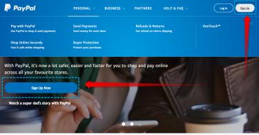 Cara Membuat Paypal