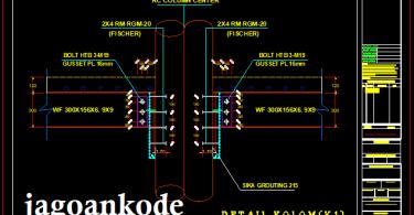 Detail-Hubungan-Balok-Baja-WF-Dan-Kolom