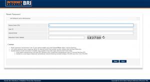 Solusi Mudah Ketika Internet Banking BRI Kalian Terblokir