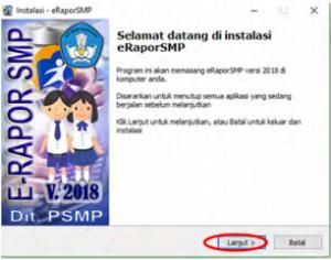 Solusi Dan Cara Menginstal E-Raport SMP