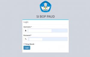 Cara Pengisian Data BOP Paud Secara Online