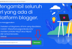 tools generate link sitemap blogger