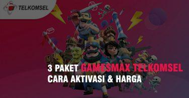 3 Paket GamesMax Telkomsel Cara Daftar & Harga 2020