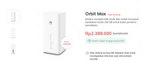 Paket Orbit max