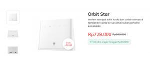 Paket Orbit star