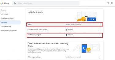 amankan Akun Google