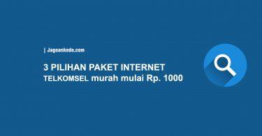 3 Pilihan Paket Internet Telkomsel Murah