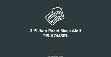 3 Paket Masa Aktif Telkomsel Murah