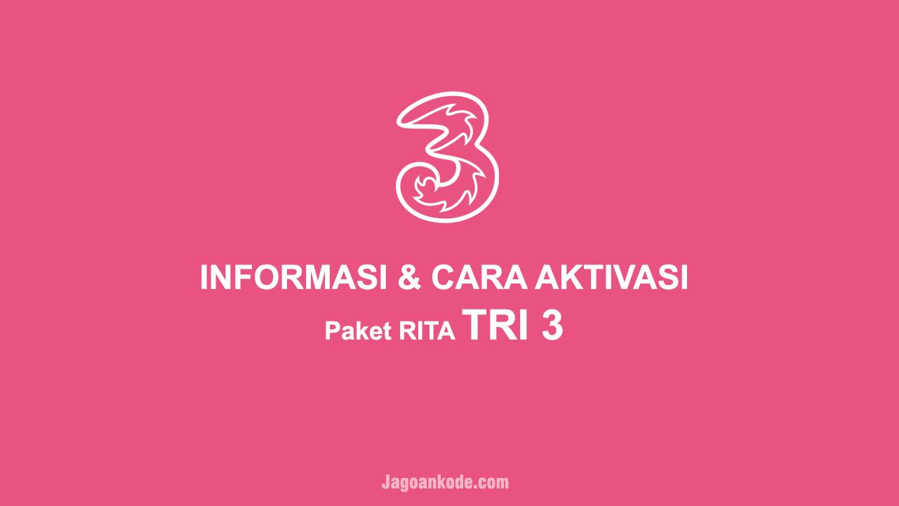 Informasi Cara Aktivasi Paket Tri Rita Lokal Jagoan Kode