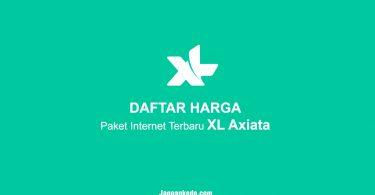 DAFTAR HARGA Paket Internet Terbaru XL Axiata