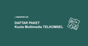 Kuota Multimedia Telkomsel