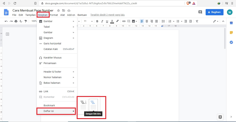 Cara Membuat Daftar Isi Di Google Docs Jagoan Kode