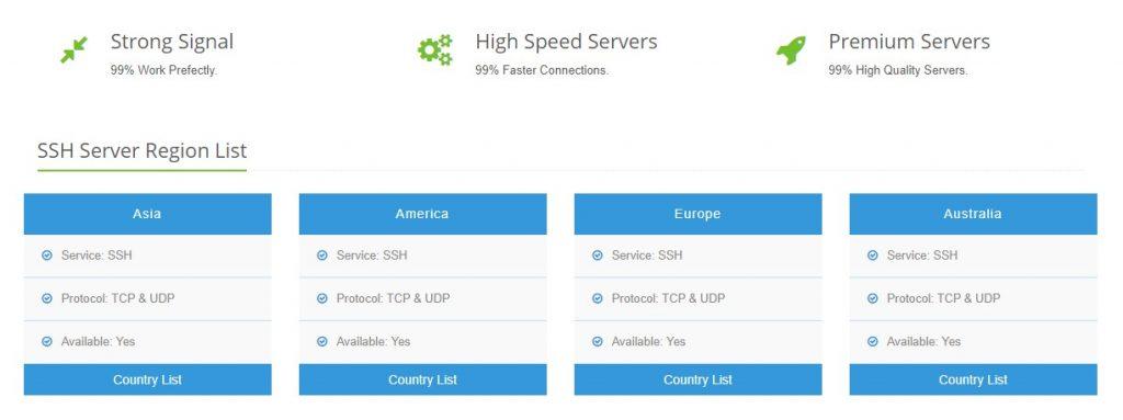 SSH gratis di SSHDropbear