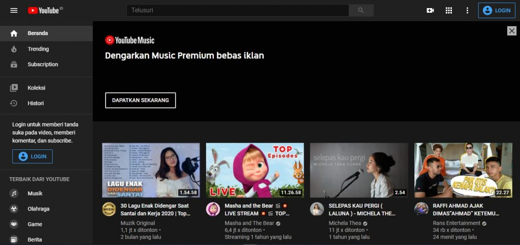 Cara Download Subtitle di YouTube