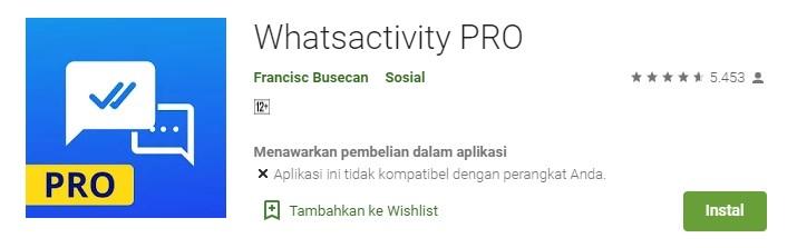 Cara Mengetahui Kontak WhatsApp sedang Online