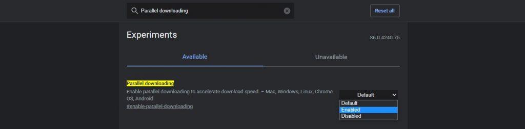 Percepat download di chrome