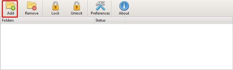 cara mengunci folder penting di windows