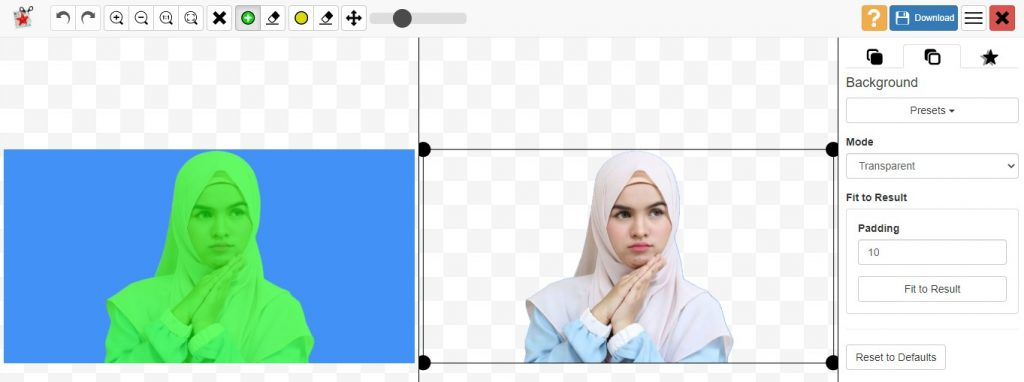 Cara Ganti Background Foto dengan Photoscissors