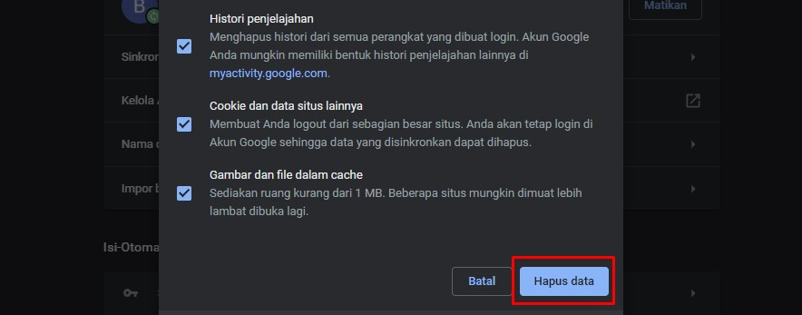 Mengatasi err_connection_refused di Laptop/Komputer