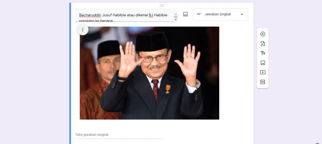 cara menambahkan foto di Google Forms