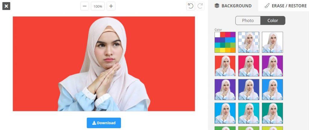 Ganti Warna Background Foto dengan Remove.bg