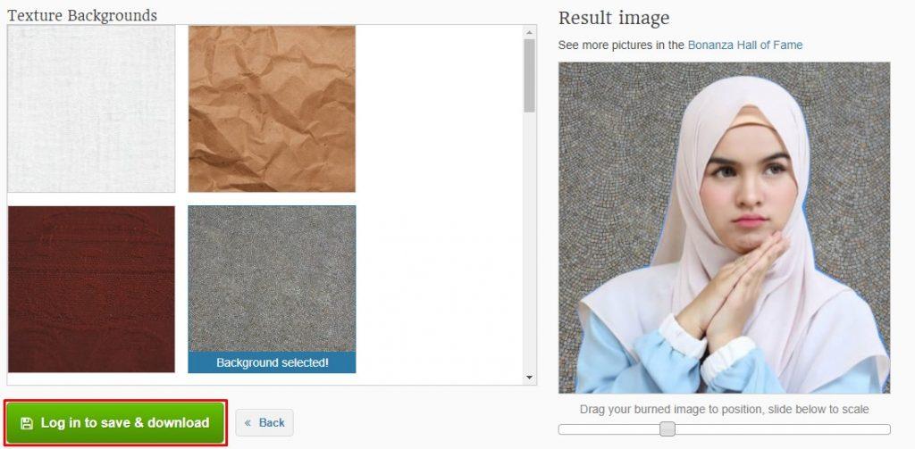 Cara Ganti Background Foto dengan Background Burner