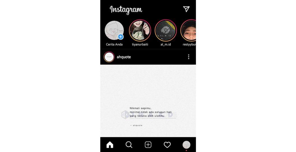 Lokasi di Bio Instagram Tidak Muncul