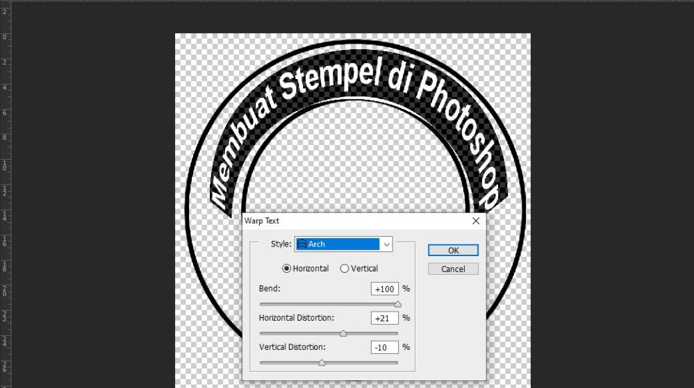 membuat stempel sendiri di photoshop
