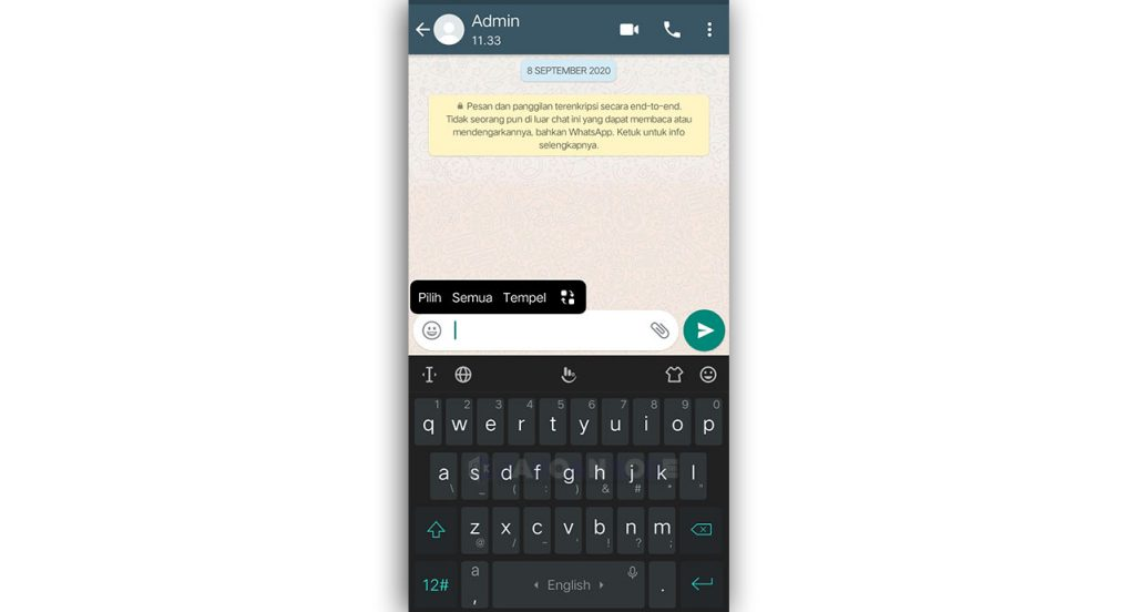 Menggunakan Layanan Blank Text Generator