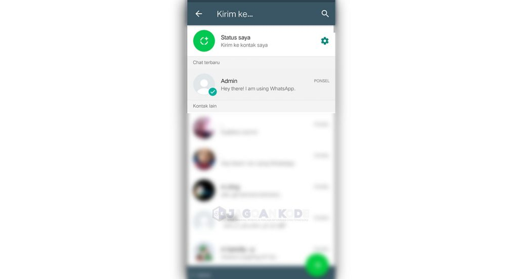 Blank Message (for WhatsApp)