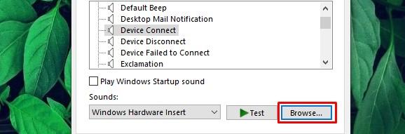 menyesuaikan efek suara windows 10