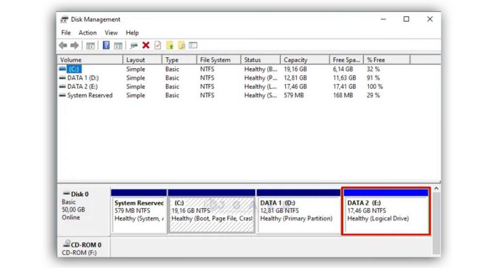 Cara Menghapus Partisi Hardisk di Windows 10