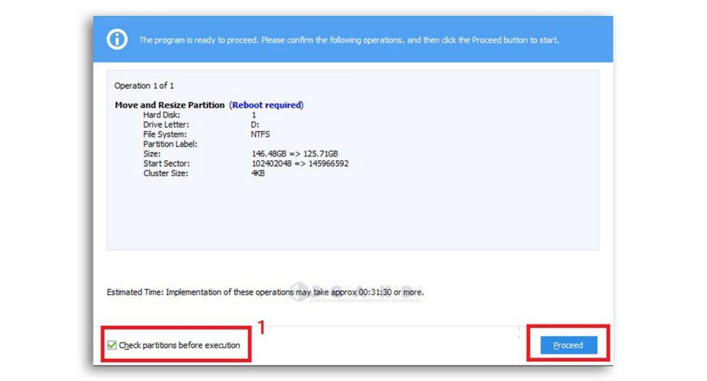 Cara Menambah Kapasitas Drive C di Windows 10