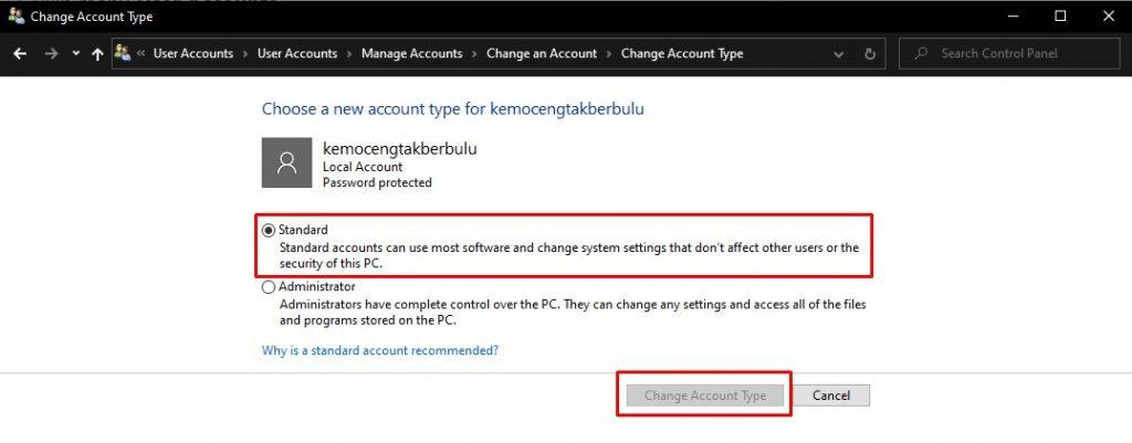 Cara Membatasi Akses User di Windows 10