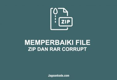 Cara Memperbaiki File ZIP dan RAR yang Corrupt