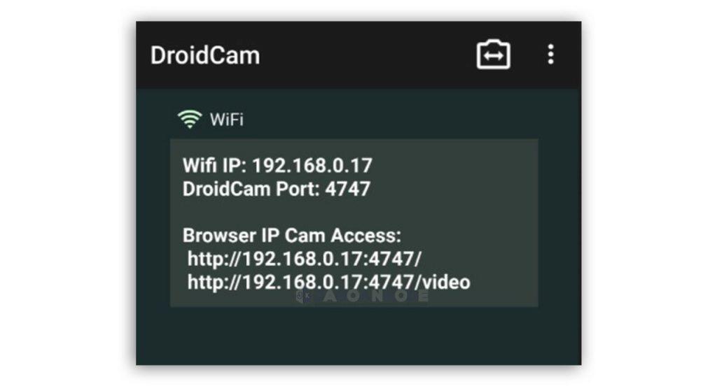 Mengubah Kamera HP Menjadi Webcam PC atau Laptop