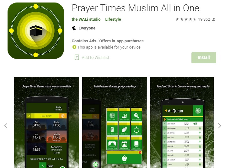 Prayer Times Muslim All in One