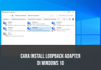 install loopback adapter