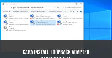 install loopback adapter