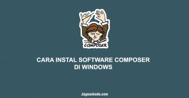 CARA INSTAL SOFTWARE COMPOSER DI WINDOWS